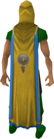 Invention cape (t) equipped