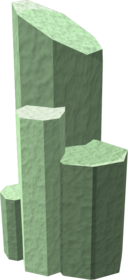Ring of stone (green stone)