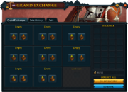 Grand Exchange interface