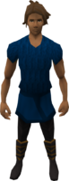 Retro tunic bottom and leggings