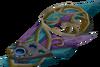 Augmented attuned crystal ward detail