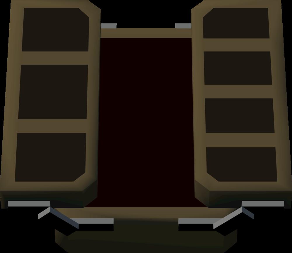 Professional tackle box detail