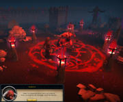 Drawing a blood circle for Delrith