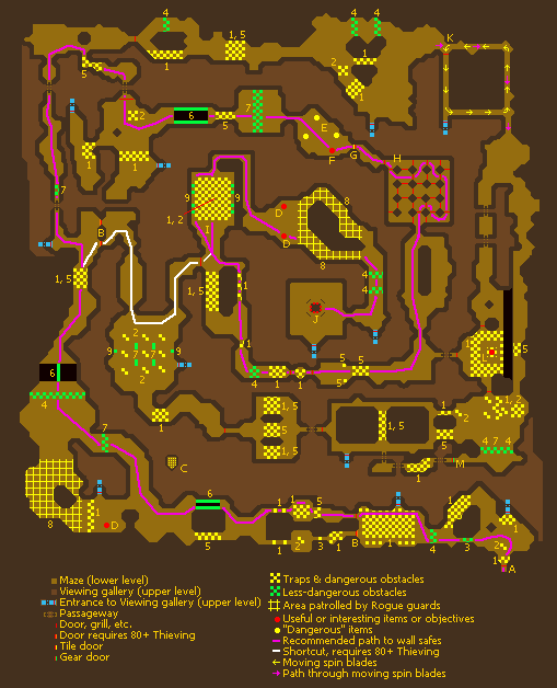 RoguesDen minigame map