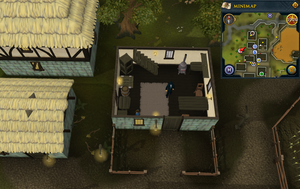 Simple clue Draynor Village north house drawers