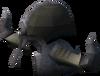 Warrior helm (e) detail