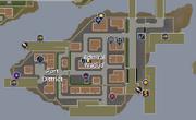 Port district map