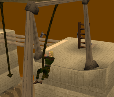 Brimhaven Agil - rope swing