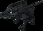 Hatchling dragon (black) pet