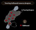 Taverley hellhound resource dungeon map.png