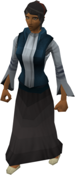 Saradominist priest's wife