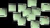 Lime chunks detail