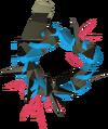 Abyssal vine whip (blue) detail