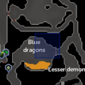 Taverley blue dragon resource dungeon entrance location.png