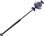 Water talisman staff detail