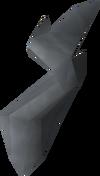 Frozen key piece (bandos) detail
