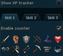 XP tracker
