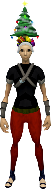 Image - Christmas tree hat equipped.png | RuneScape Wiki | FANDOM ...