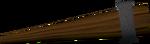 Unlit torch detail