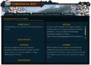 Christmas 2015 (Community) interface