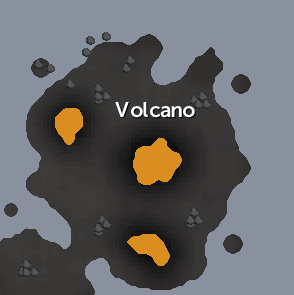 Wilderness North Volcano map