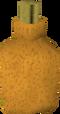 Orange dye detail