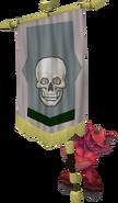 Banner carrier (skeleton)