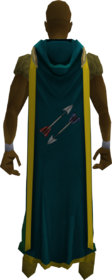 Hooded fletching cape (t) equipped