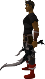 Off-hand drygore longsword (Third Age) equipped