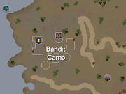 Bandit Camp (Kharidian Desert) map