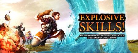 Explosive Skills banner