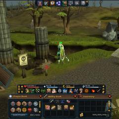 Interface customizável do RuneScape 3