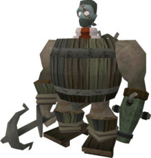 Barrelchest disguise equipped
