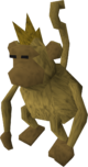 Harmless monkey