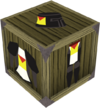 Black heraldic armour set 5 (lg) detail