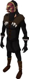 Mask of Crimson equipped