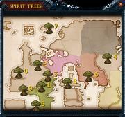 Spirit tree teleport interface
