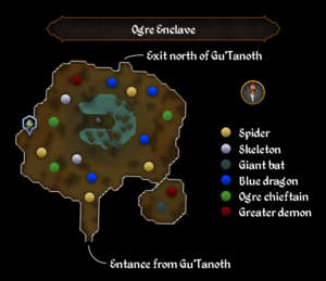 Ogre Enclave map