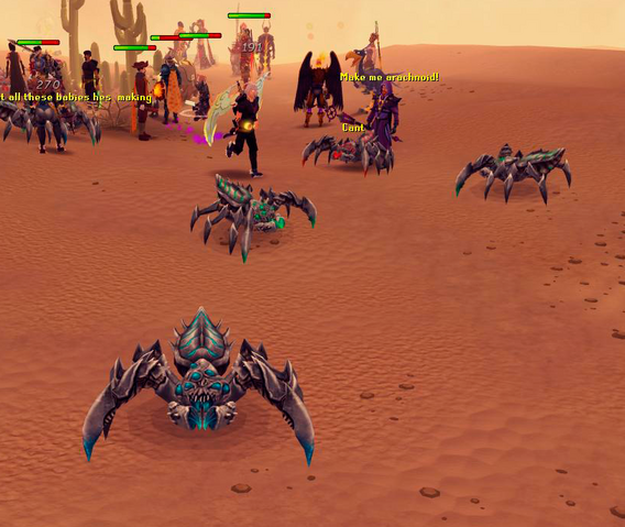 File:Players as Araxxor minion spiders.png