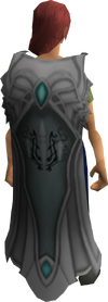 Clan Ithell cape equipped
