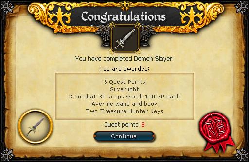 Demon Slayer beloning
