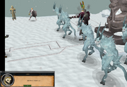Ice Demon attack