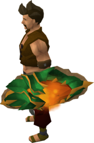 Dragonfire shield (ranged) equipped