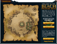 Treasure Map (Summer Beach Party) (New) interface
