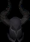 Black knight helm detail
