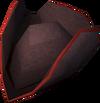 Colonist's hat (orange) detail