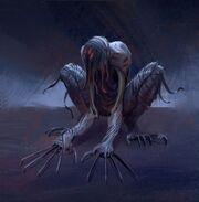 Elite Mobs concept art - Ripper demon