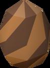 Zamatrice egg detail