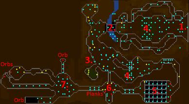 Underground Pass map 1
