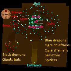 Ogre Enclave map